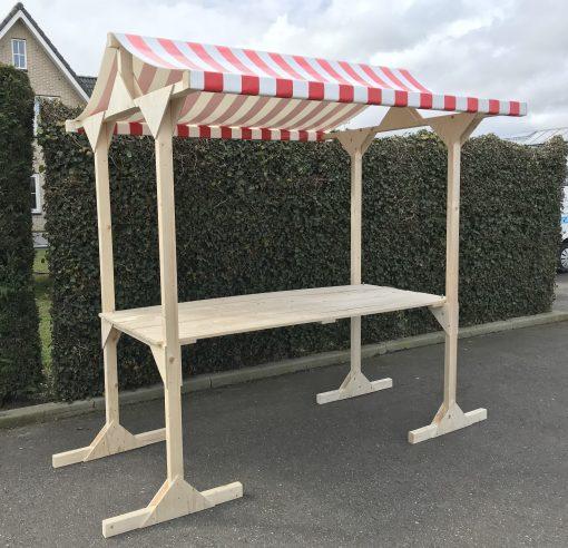 houten marktkraam